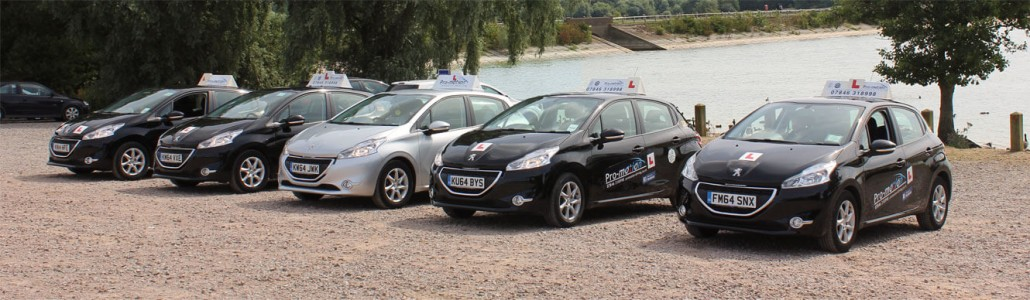 Cars for driving lessons