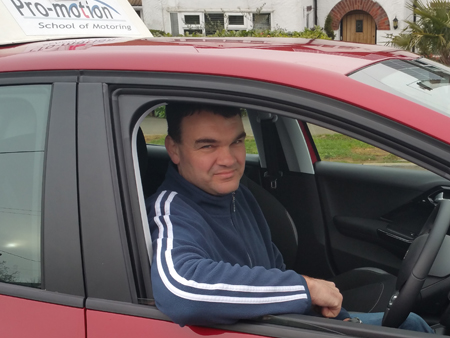 Driving Instuctor Ian Batchelor