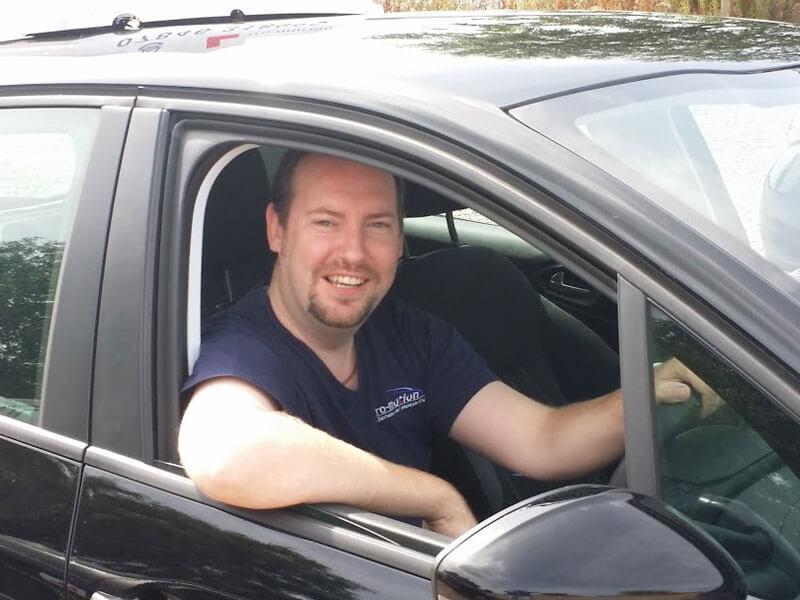 Driving Instructor Graeme Boschen